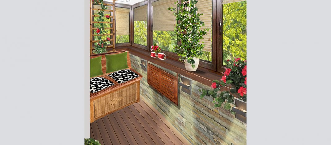 Amenajare balcon – apartament Timpuri Noi
