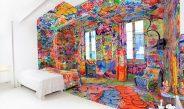 Artistul Tilt, Panic Room si graffiti