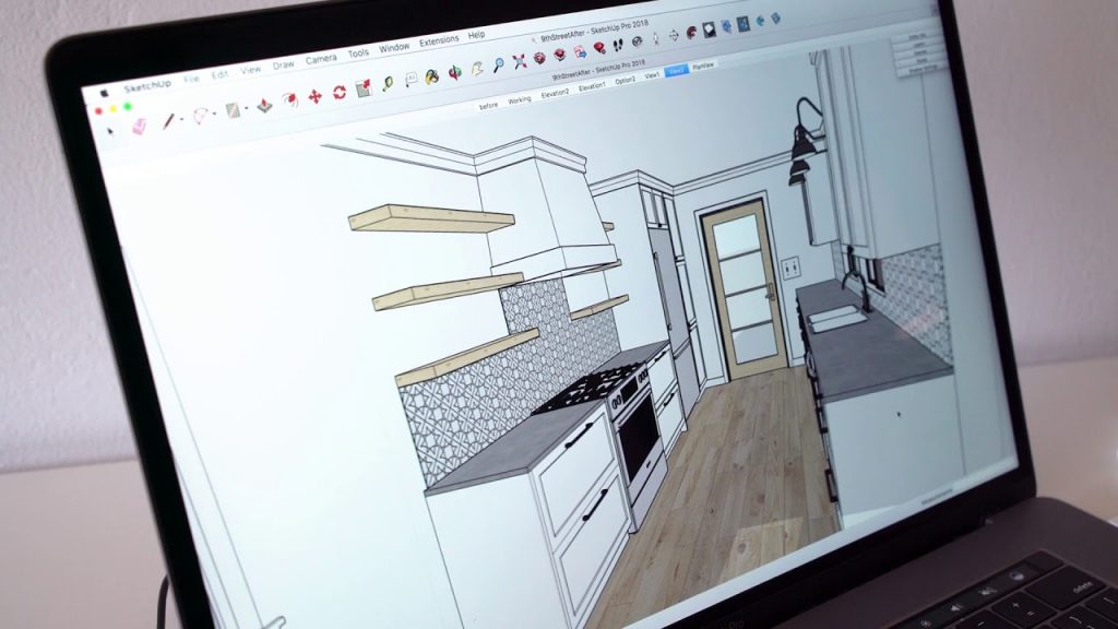 Sketchup-exemplificare